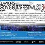 Crossroads Guitar Festival 2013 Lineup