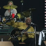 BB King Toasts Eric Clapton at Crossroads Guitar Festival