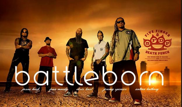 Five Finger Death Punch : Battle Born Video