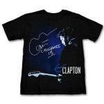Eric Clapton Hard Rock T-Shirts On Sale Now In Support Of Crossroads Centre Antigua