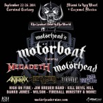 Motorhead's Motorboat Sets Sail September 22