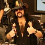 Vinnie Paul Signs For Pearl at NAMM
