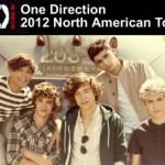 One Direction Tickets : Amway Center : Orlando, FL June 30, 2012