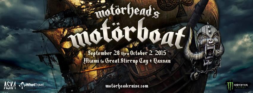 Motorhead's Motorboat Ready To Rock The Sea