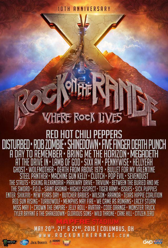Rock on the Range 10th Anniversary