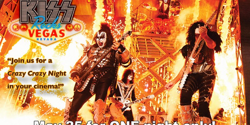 KISS Rocks Vegas Concert Film