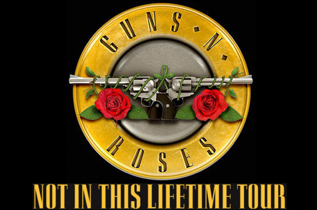 Guns N Roses Not In This Lifetime Tour Zrock
