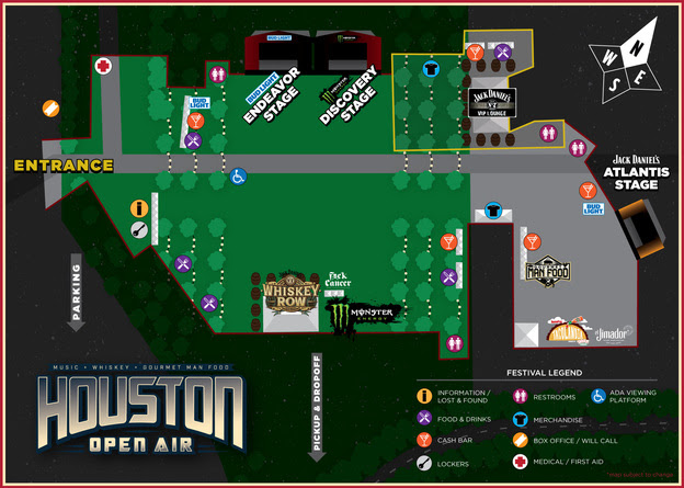 Houston Open Air stage