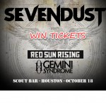 Win Sevendust Tickets – Houston Oct 18