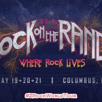 Rock On The Range 2017 Lineup