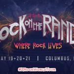 Rock On The Range 2017 Lineup