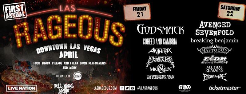 Las Rageous Festival 2017 Debuts in Vegas