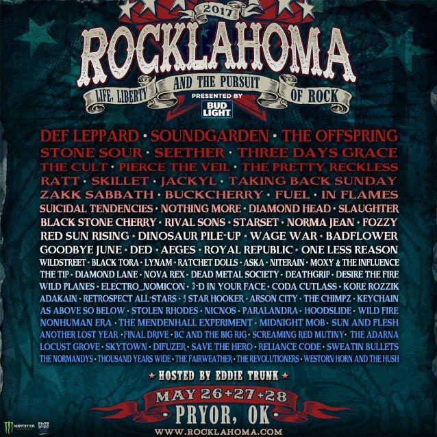 Rocklahoma lineup