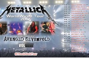 Metallica WorldWired Tour 2017