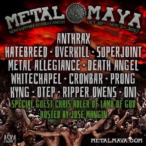Metal Maya Lineup