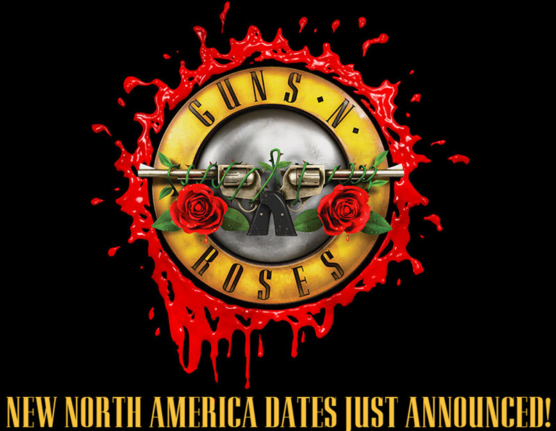 GNR new tour dates