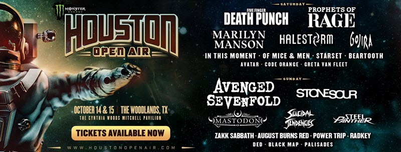 houston open air updated lineup