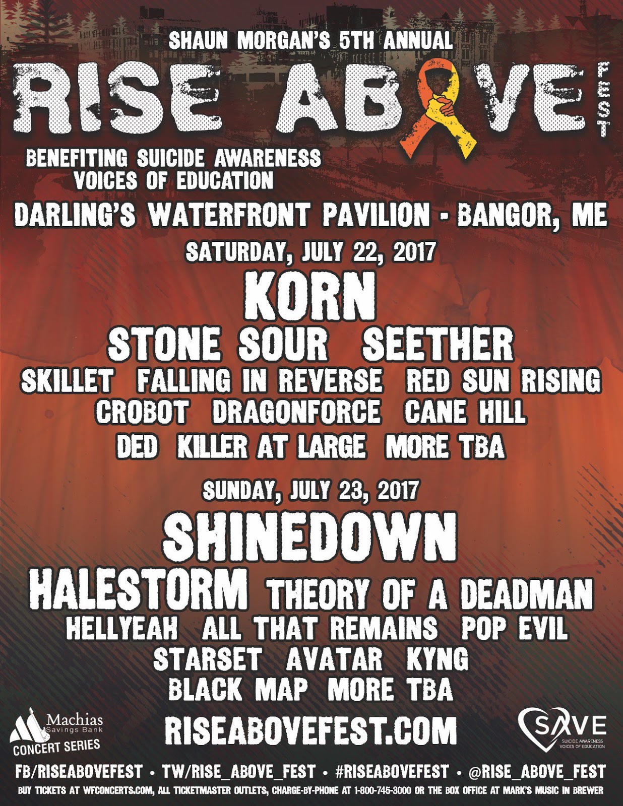 rise above fest 2017
