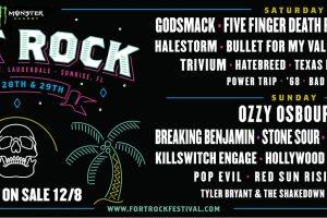 Fort Rock 2018 Lineup