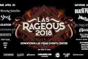 Las Rageous 2018 Lineup