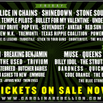Carolina Rebellion 2018 Lineup
