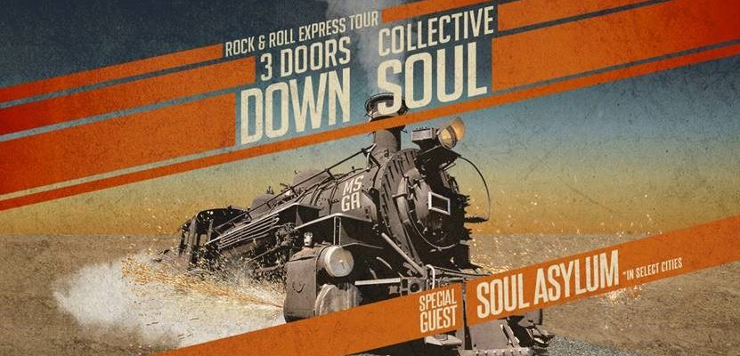 3 Doors Down and Collective Soul : The Rock & Roll Express Tour
