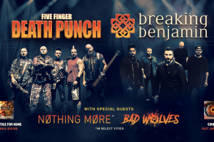 Five Finger Death Punch Breaking Benjamin Tour