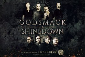 Godsmack – Shinedown Tour
