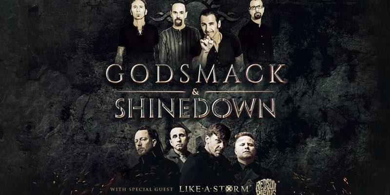 Godsmack – Shinedown Tour