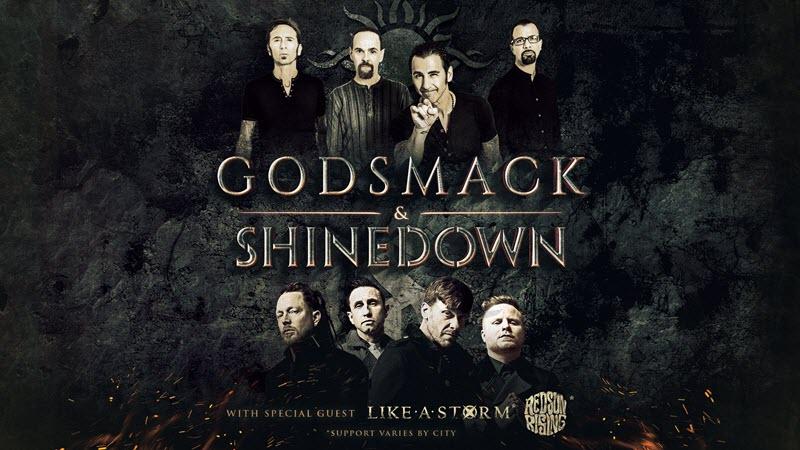 godsmack shinedown tour