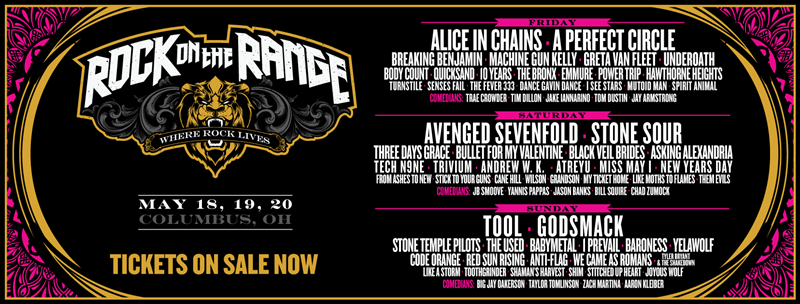 rock on the range daily 2018