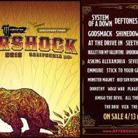 Aftershock 2018 Lineup