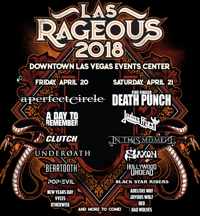 las rageous updated lineup