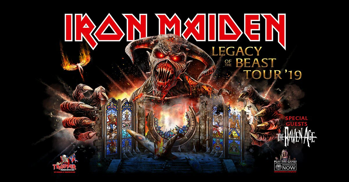 iron maiden tour 19
