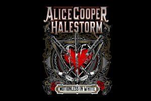 Alice Cooper and Halestorm Tour