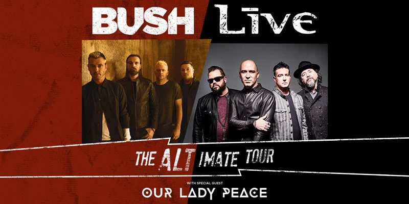 Live and Bush The Alt-imate Tour