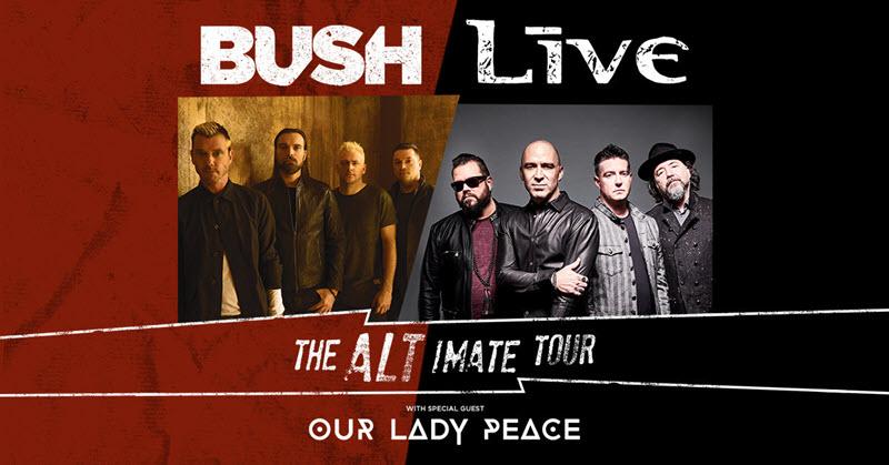 live bush tour 2019