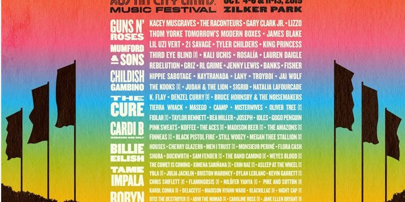 ACL Fest Lineup