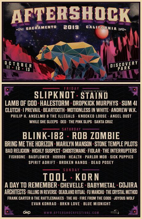 aftershock lineup 2019