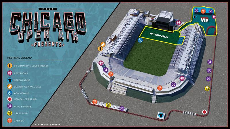 Chicago Open Air Set Times | ZRock