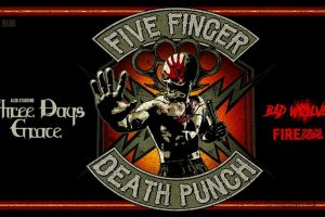 Five Finger Death Punch Fall 2019 Tour