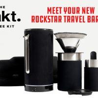 Meet Your New Rockstar Travel Barista : Pakt Coffee Kit