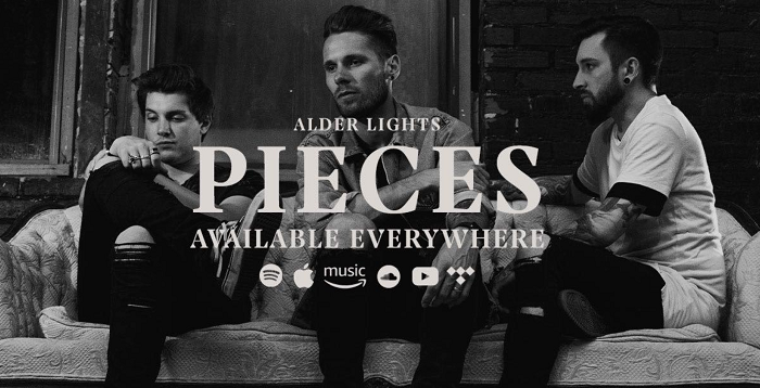 "ALDER LIGHTS Release Official Music Video for ""Pieces"""