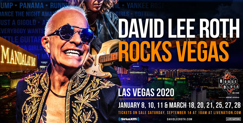 David Lee Roth Vegas