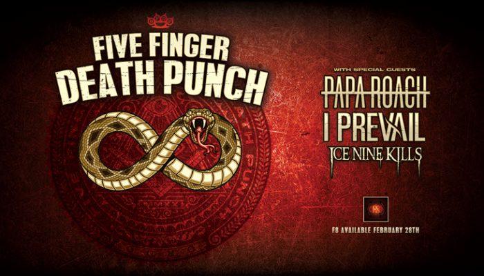 five finger death punch tour