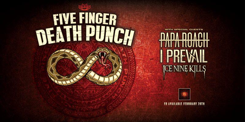 Five Finger Death Punch 2020 Tour