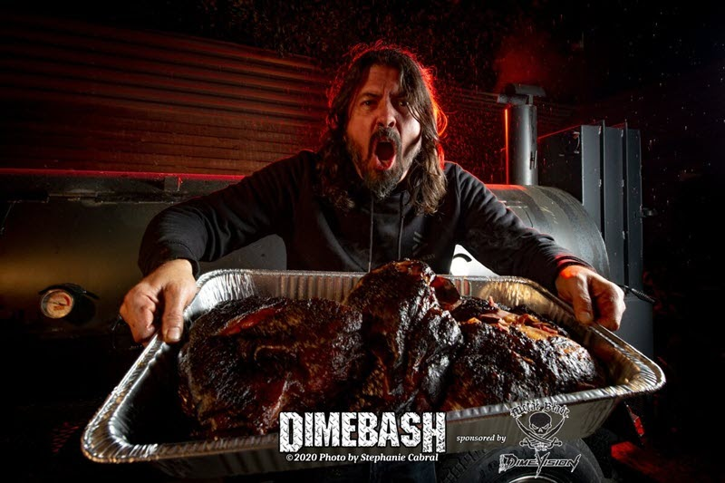 Dave Grohl BBQ