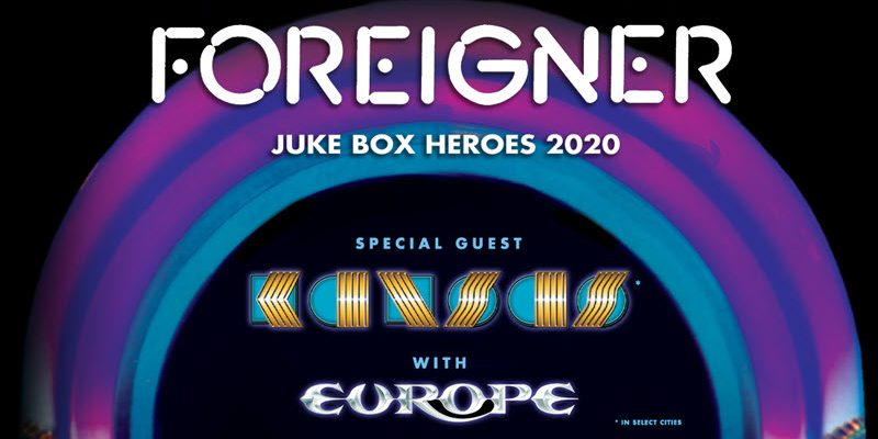Foreigner Juke Box Heroes 2020 Tour