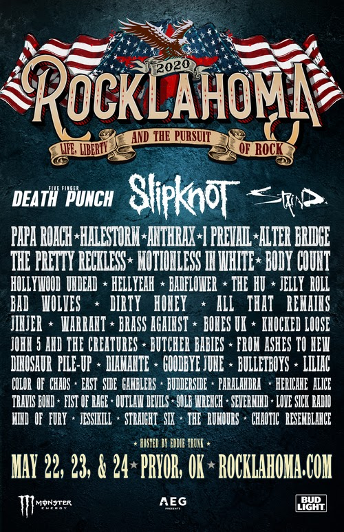 rocklahoma 2020 lineup