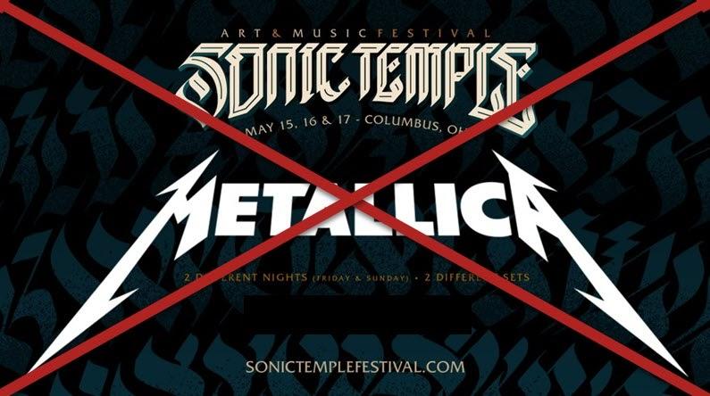 metallica sonic temple